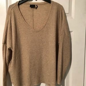 Urban Outfitters - waffle knit oversized sweater